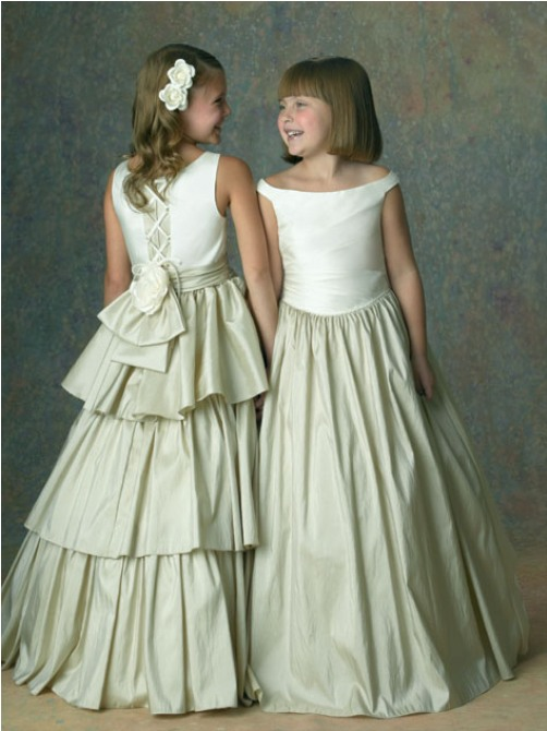 little girl dress up wedding dresses - Di Candia Fashion