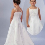 little girls white wedding dresses