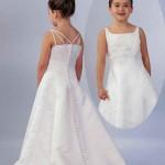 little girls white wedding dresses