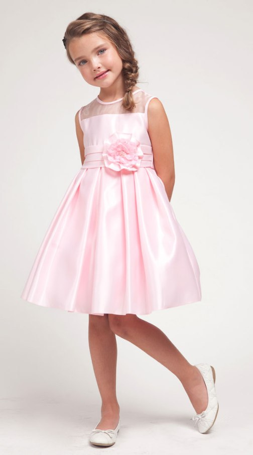 Mini Little Girls Wedding Dresses Di Candia Fashion