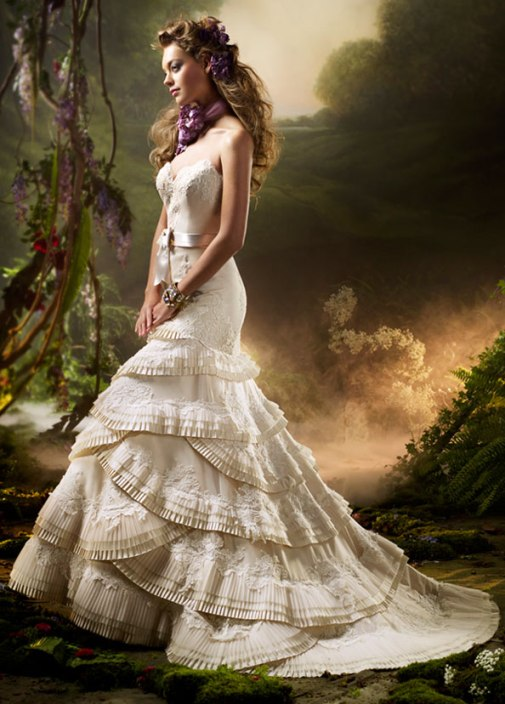 modern victorian era dresses - Di Candia Fashion