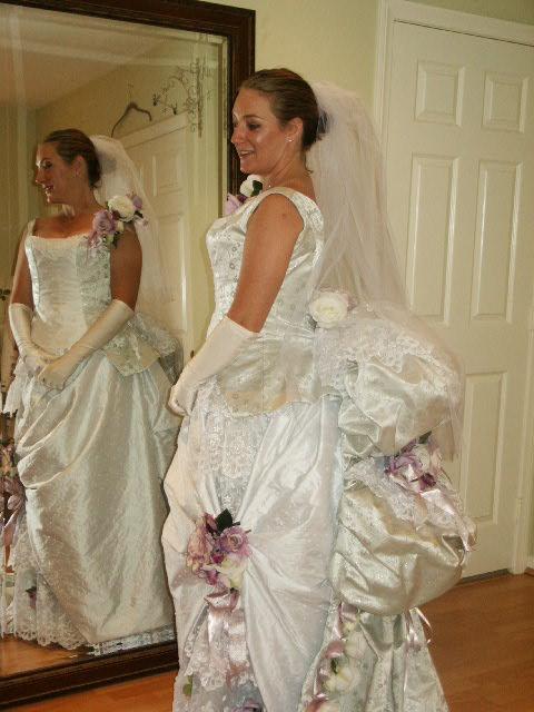 modern victorian style dress