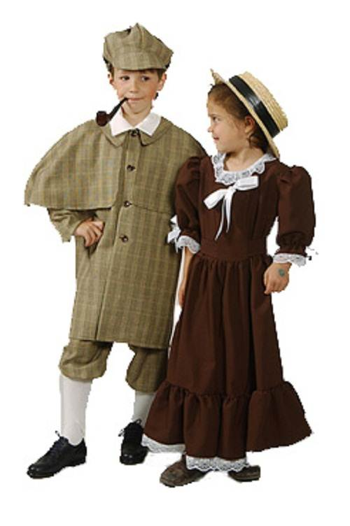 rich victorian boys clothing