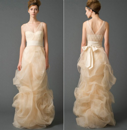 Vera Wang wedding gowns sale