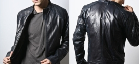 Black Leather Jacket Style Tips for Cool Men