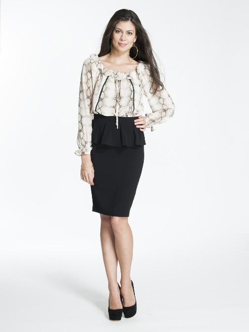 Black Pencil Skirt Outfits Di Candia Fashion