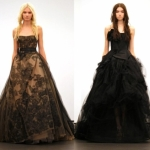 black wedding dresses 2013