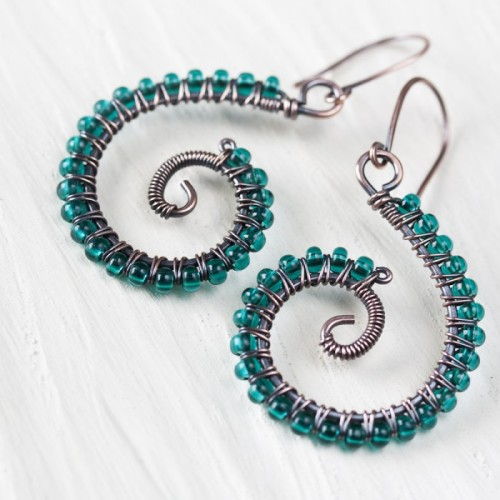 Earrings Beaded Handmade Images