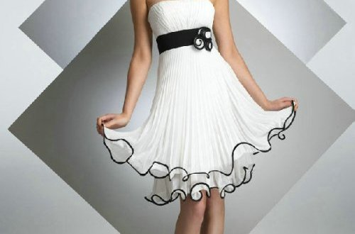 Little white dress wedding junglespirit Gallery
