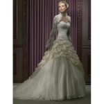 long sleeve wedding dresses 2012