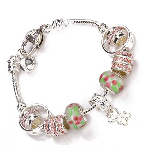 Pandora Bracelet Silver Charms