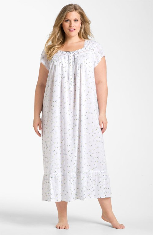 plus size nightgowns cotton 57e3dfe1d