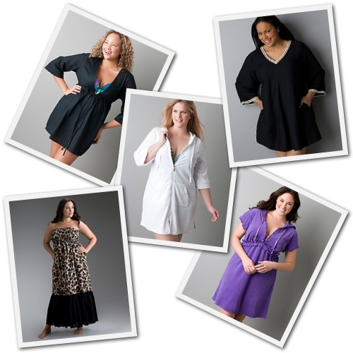 plus size swimsuit coverups for women