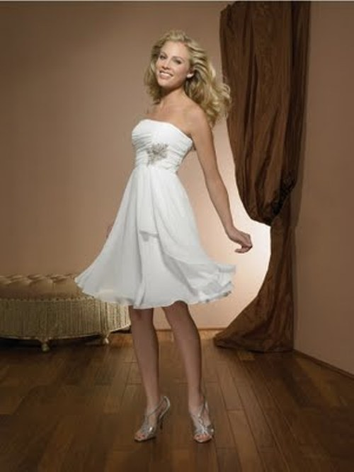 short white dresses 2012