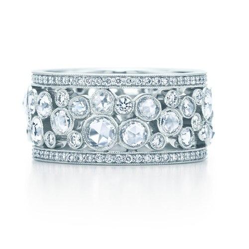 unique diamond wedding bands pictures