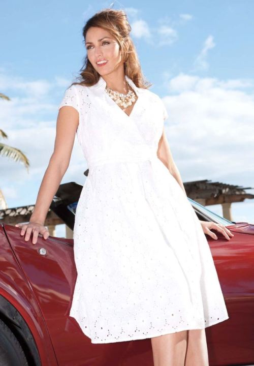 White Club Dresses For Woman
