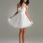 white cocktail dresses 2012
