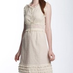 white eyelet dress girls