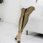 Shiny Gold Leggings 2013