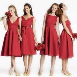 affordable bridesmaid dresses by color