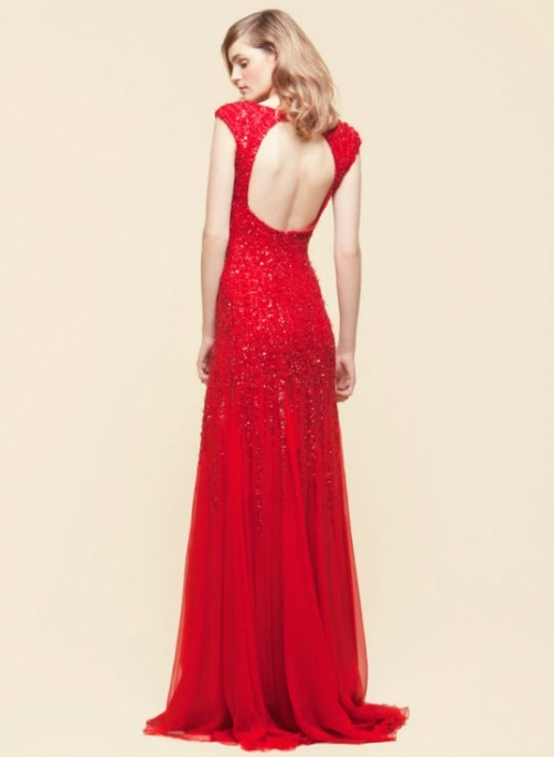 Elie Saab Red Dress For Sale Di Candia Fashion