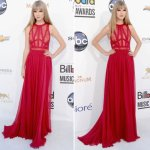 elie saab red dress taylor swift