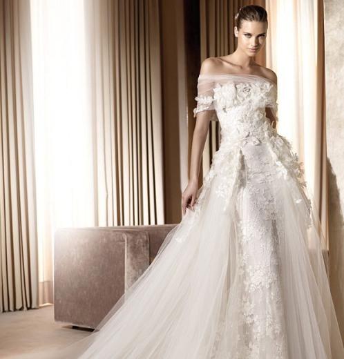 Elie Saab Wedding Gowns 2013