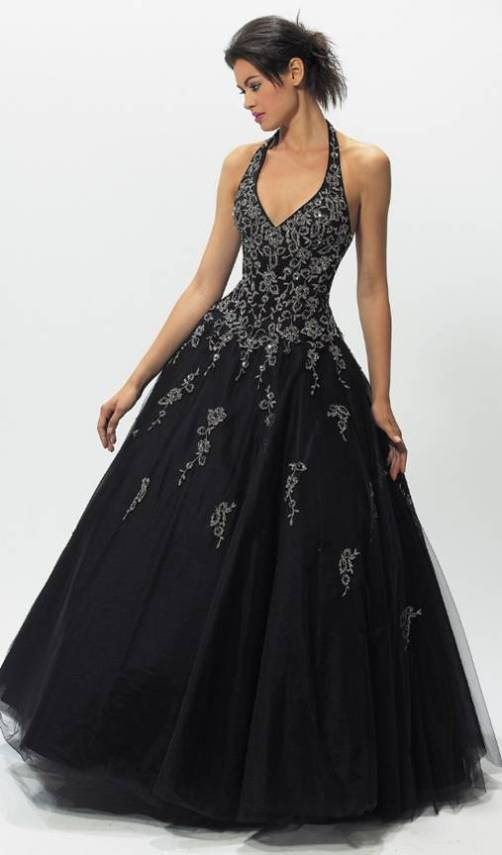 Gothic wedding dresses cheap di candia fashion for Gothic wedding dresses cheap