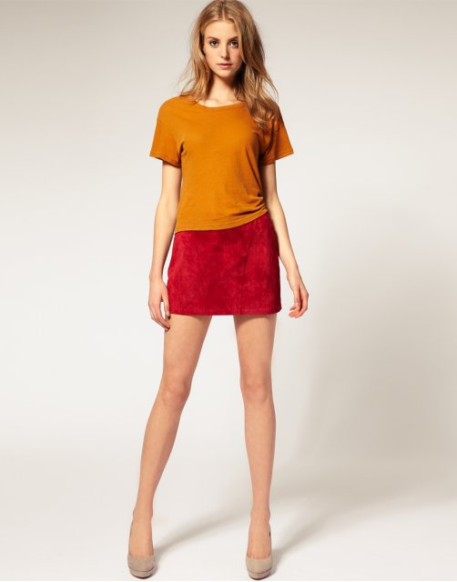micro mini skirt trend