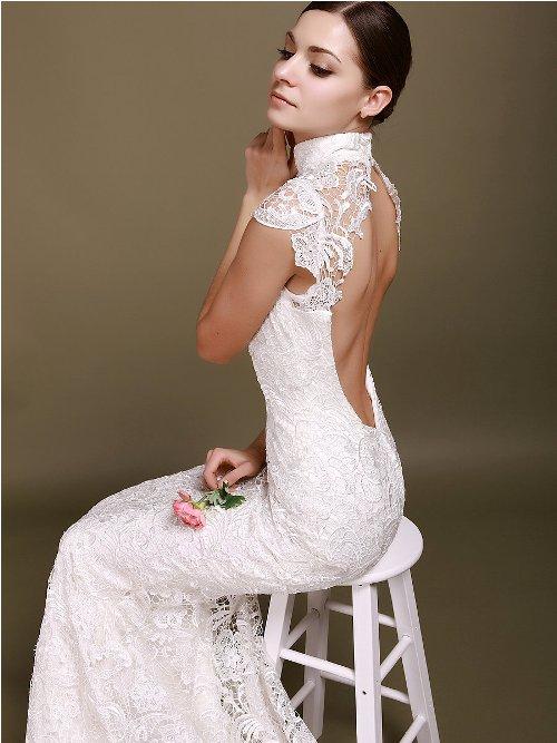 Open back wedding dresses pinterest di candia fashion for Beach wedding bridesmaid dresses pinterest