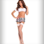 plaid mini skirt for juniors