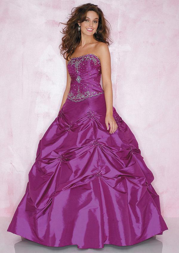 purple wedding dresses for plus size women - Di Candia Fashion