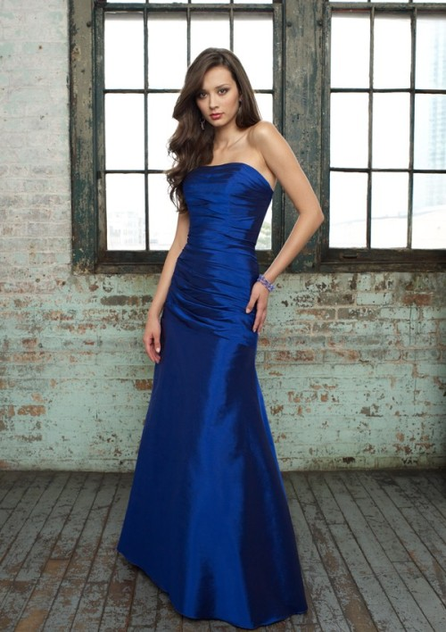 royal blue bridesmaid dresses canada - Di