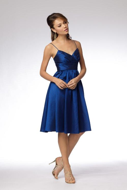 Royal blue bridesmaid dresses short for Royal blue short wedding dresses
