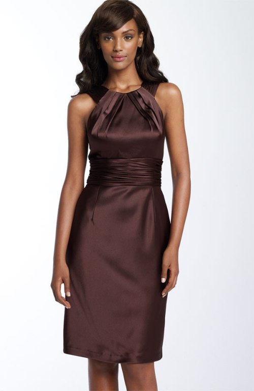 Brown bridesmaid dresses uk for Brown dresses for wedding