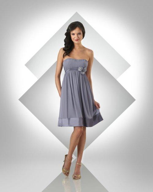 silver bridesmaid dresses davids bridal - Di Candia Fashion