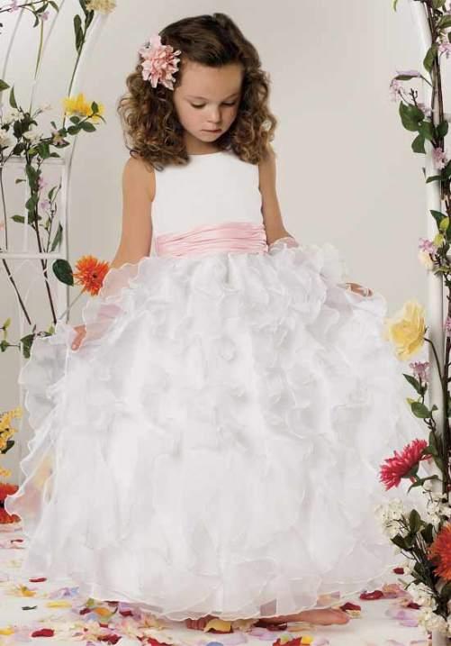 white flower girl dresses macys