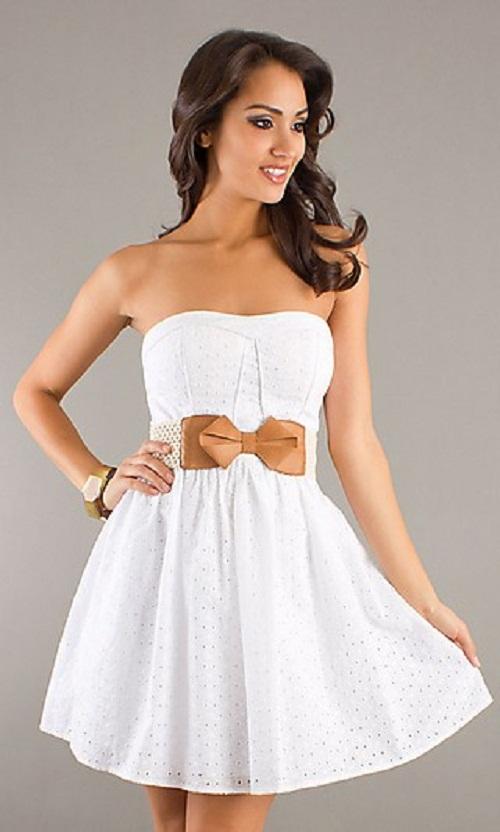 09784c53205 Girls from Savoy Strapless Dress
