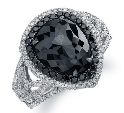 Black diamond engagement rings meaning di candia fashion for Black wedding rings meaning