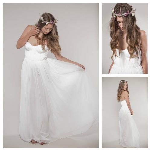 Boho wedding dresses for sale for Bohemian wedding dress for sale