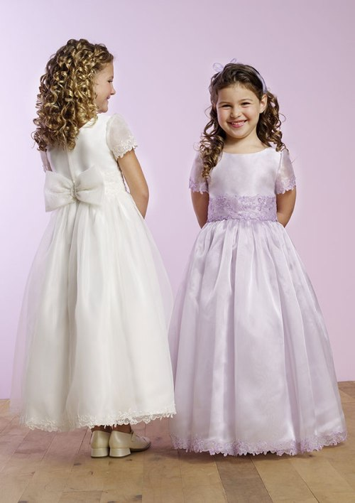 0f2092851a Flower Girls Dress Patterns for Traditional Wedding