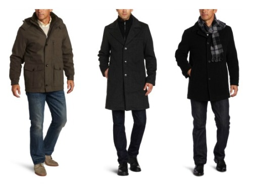 mens pea coat kohls trend