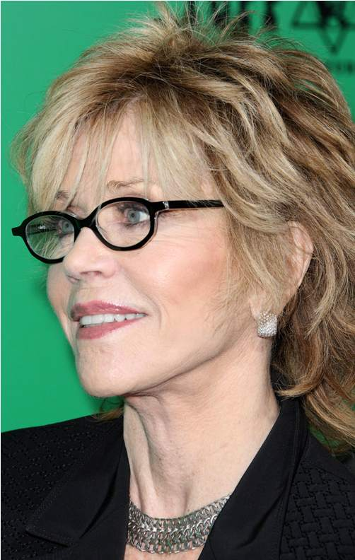 Short Hairstyles For Older Women Who Wear Glasses Di