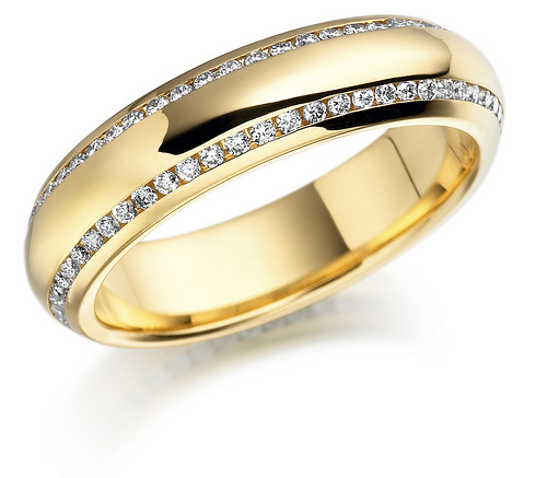 wedding rings for women gold - Gold Wedding Rings For Women
