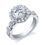 2 carat engagement rings princess cut