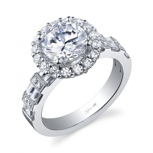 Carat Princess Cut Diamond Ring On Finger