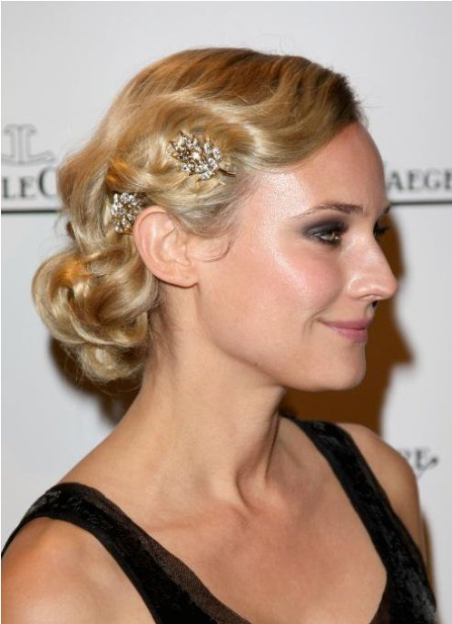 bridal hairstyles low side bun style