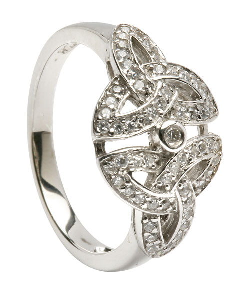 celtic wedding rings silver