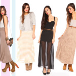 maxi skirts for women online