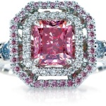 pink diamond engagement ring zales